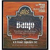 GHS PF 140 Banjo J.D. Crowe suave Acero Inoxidable 5-cuerdas (lazo)