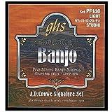 GHS PF140 Jeu de 5 cordes pour Banjo J.D.Crowe Studio