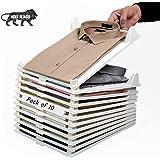 Mehta's Cloth Organizer Effortless Closet Drawer Cloth Storage Rack Documents Bill Voucher Letter Paper Organizer Tray…