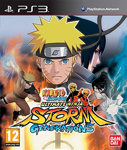 Naruto Shippuden : Ultimate Ninja Storm Generations + Booster [PS3] - Ninja Naruto Ultimate Ps3