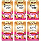 Yogi Tea Women's Energy Organic 17 Bag (Case of 6)