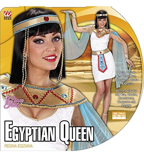 Imagen de reina egipcia disfraz pequeño de egipto antiguo vestido de lujo alternativa