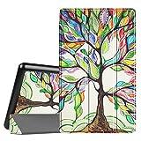 Fintie Fire HD 8 Custodia - Ultra Sottile Leggero Supporto Custodia Cover Case per Amazon Nuovo tablet Fire HD 8 (6ª generazione - modello 2016) - Love Tree