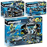 PLAYMOBIL 9250-53-54 Top Agents Set 3 - 3er Set 9250 + 9253 + 9254