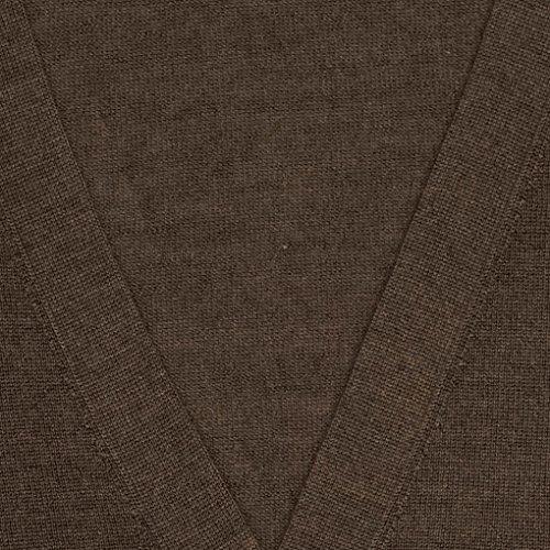 Cardigan en cachemire et soie ultra fine - 1747 Pewter