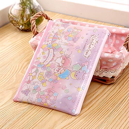 Aufbewahrungstasche Ziplock-Tasche Reise nach Hause PP wasserdicht 200 * 145mm Ziplock-Tasche Gemini - Hello Kitty Kosmetik-set