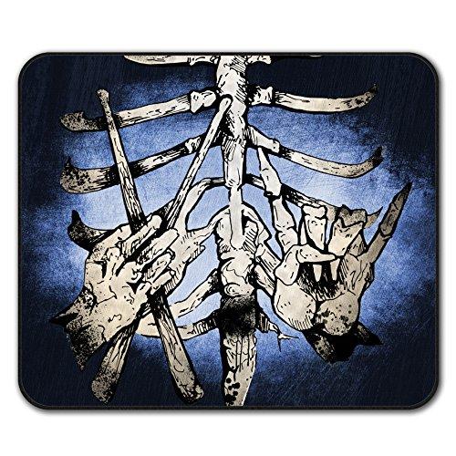 rib-cage-drummer-stick-finger-bone-non-slip-mouse-mat-pad-24cm-x-20cm-wellcoda