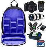 AMPLE ITALIA DSLR SLR Backpack Camera Bag | Camera Lens Shoulder Backpack Case for Canon Nikon | Lens Accessories Carry…