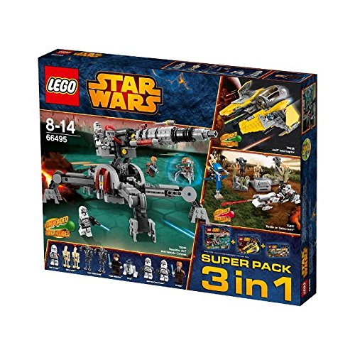 LEGO Star Wars (66495) Super Pack 3 in 1