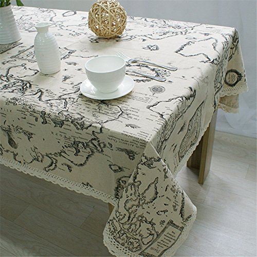 Superwinger World Map Table Clot...