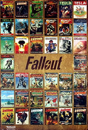 GB eye Fallout 4 Magazine Covers Maxi Poster, Various, 61 x 91.5 cm by GB Eye Limited