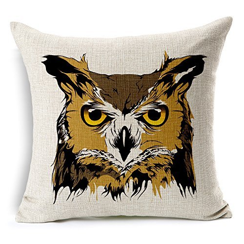1willloanestore-2015-new-arrival-painted-horrible-fierce-anmial-tiger-snake-wolf-bobcat-owl-linen-co