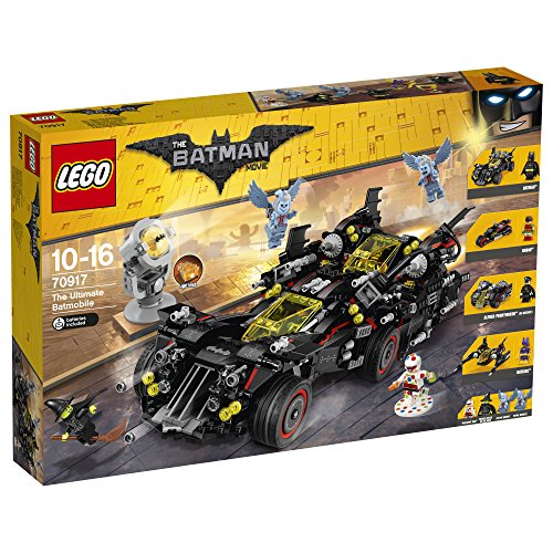 LEGO - 70917 - Batman Movie - Jeu de Construction - La Batmobile suprême, Figurines