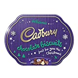 Cadbury Christmas Biscuit Tin 340g