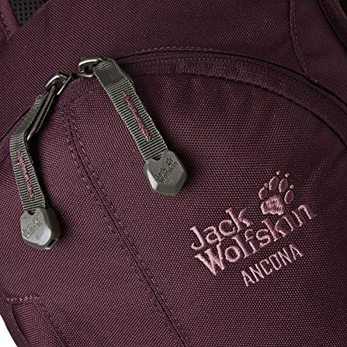 Jack Wolfskin Rucksack Ancona, 40 x 24 x 16 cm Dark Berry