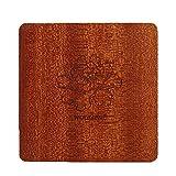 carrywon handgefertigt Untersetzer rutschfeste cup Badematten-Set von 2/4 Brown set of 2