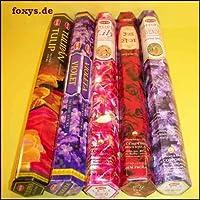 Räucherstäbchen HEM 5er-Set Blüten - Indisches Räucherwerk preisvergleich bei billige-tabletten.eu