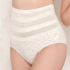 Voberry Women's Corset Shaper, Puerpera Maternal Thin Slim Hip Breathable Cotton Underpant