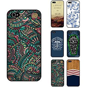 K9Q Retro Quote Painted Hard Phone Case Back Cover Skin Plastic Protector For iPhone 5 5S Shipped With Tracking Number & A Free Gift