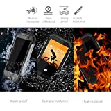 Movil Todoterreno, Blackview BV6000 Teléfonos Libres, IP68 Impermeable, a Prueba de Golpes y Polvo, Batería 4500 mAh, Octa-core 3GB RAM + 32GB ROM, Android 7.0 Dual SIM Smartphone, 13MP Cámara, 4.7 HD, Wifi, Bluetooth, NFC, Regalo de Navidad - Amarillo