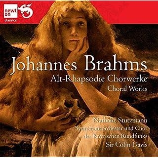 Brahms; Works For Chorus, Alto Rhapsody