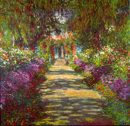 Giverny, Monet Canvas-frame (Das Museum Outlet - Giverny von Monet, gespannte Leinwand Galerie verpackt. 96,5 x 121,9 cm)