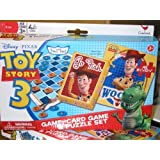 Toy Story 3 Game, Card Game and Puzzle Set- Woody by Cardinal
