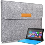 Inateck Microsoft Surface 3 Case Cover Sleeve Bag for New Surface 3 10.8 Inch 2015 Version, Grey