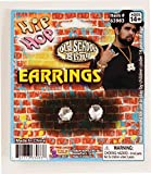 Forum Neuheiten Hip Hop Faux Diamant Ohrstecker One-Size