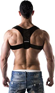 Advanced Posture Corrector for Men and Women by Back Brace Solutions. Improve Your Posture. Feel The Amazing Benefits and Rel