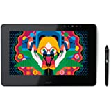 Wacom Cintiq Pro 13 Creative Pen Display Grafiktablett (13 zoll, mit Display und Standfüßen inkl. Wacom Pro Pen 2 Eingabestift und mit Link Plus Adapter - Kompatibel mit Windows und Apple)