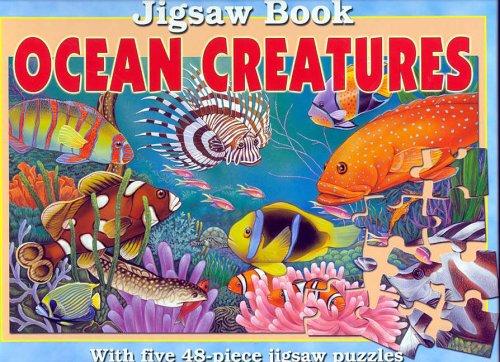 Ocean Creatures Jigsaw Book: Jigsaw Book with Five 48-Piece Jigsaw Puzzles. por Lee Krutop