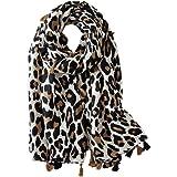 Fenical Leopard sciarpa donna Animal Print sciarpa lunga sciarpa di cotone sciarpa regalo sciarpa leopardo stampa sciarpa