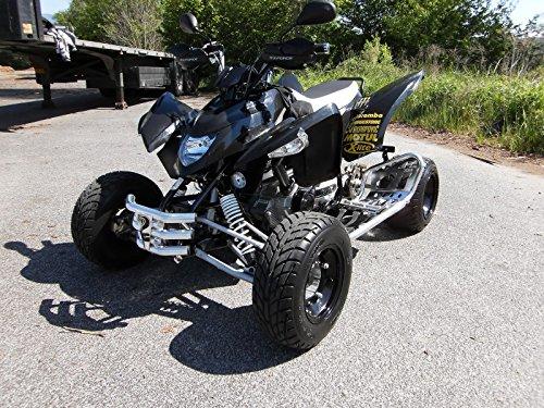 XRV - Poggiapiedi con paratacchi per quad Aeon Cobra 300/350