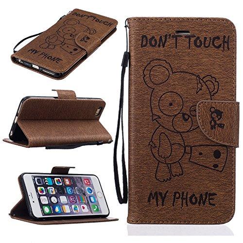 bonroyr-iphone-6-plus-55-zoll14-cm-hulle-lustige-nette-teddybar-folio-schutzhulle-tasche-pu-leder-mi