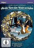 Als die Tiere den Wald verließen, Staffel 2 - Remastered Edition / Die komplette 2. Staffel der Kultserie nach dem gleichnamigen Roman von Colin Dann (Pidax Animation) [2 DVDs]