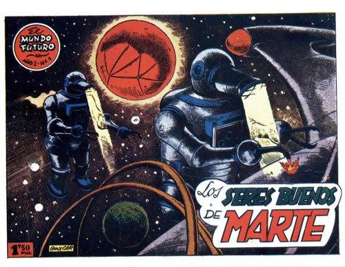 El Mundo Futuro: Los seres buenos de Marte