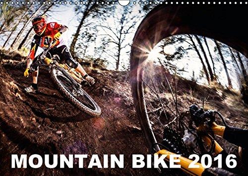 Preisvergleich Produktbild Mountain Bike 2016 by Stef. Candé (Wandkalender 2016 DIN A3 quer): Einige der besten Mountainbike-Action-Fotos von Stef. Candé! (Monatskalender,  14 Seiten) (CALVENDO Sport)