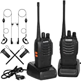 Walkies Talkies Profesionales 16 Canales CTCSS DCS,Walkie Talkie Recargables 1500mAh con Cargador USB,Walkie Talkie Radiocomu