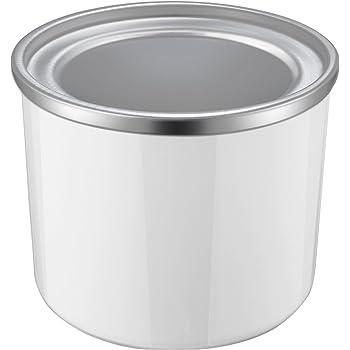 Aicok Vaschetta Gelato in Alluminio, Contenitore Rimovibile Termica con Capacità da 1,5 Litri, Accessori Macchina Gelato, Contenitore per Gelatiera, Fragola, Limone, Yogurt
