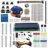 Smraza Project Starter Kit with LCD1602, Buzzer, Servo Motor and 5V Relay For Arduino UNO R3 Mega2560 Mega328 Nano