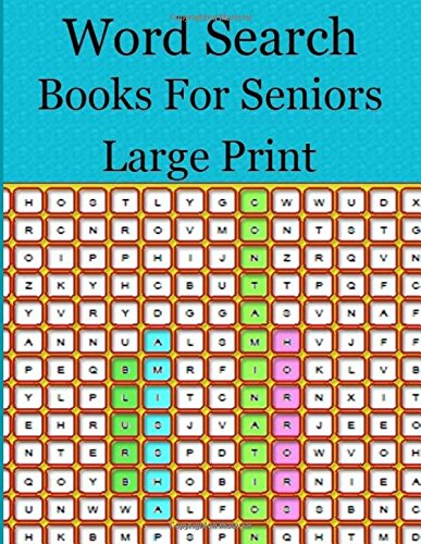 Word Search Books For Seniors Large Print: Easy-to-see Full Page Seek and Circle Word Searches to Challenge Your Brain (Big Font Find a Word for Adults & Seniors) por champen p.k