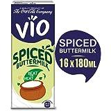 Vio Spiced Buttermilk, Pack of 16 x 180 ml