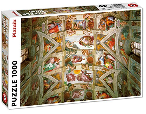 Piatnik 5393 - Michelangelo Buonarroti: Deckenfresken der Sixtinischen Kapelle - Puzzle