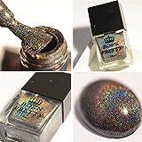 Born Pretty 10ml Holographic Holo Glitter Super Shine Nail Art Polish (Leuchten in der Dunkelheit)