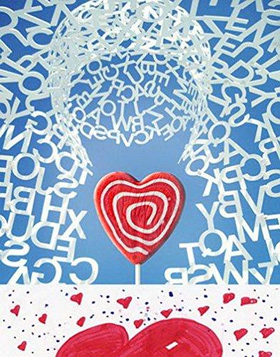 A.Monamour Polterabende Briefe Kreative Wanddekorationen Partei Wand Umkreist Herz Liebe Süßigkeiten Thema Hintergründe Photo Hintergründe