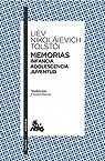 Memorias. Infancia/Adolescencia/Juventud par Tolstoi