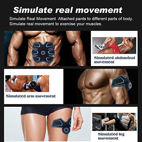 Asequible ACTOPP Electroestimulador Abdominal Muscular EMS