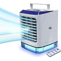 Mobile Klimaanlage 4 in 1 mit Fernbedienung, Mini Luftkühler, Ventilator, Luftbefeuchter, mit Verdunstungskühlung…