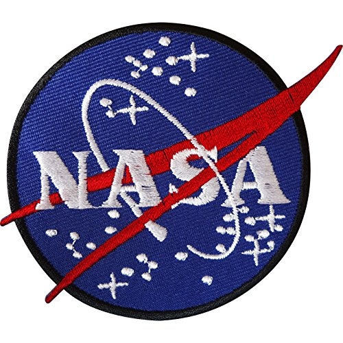 Astronauten Kostüm Nähen - ELLU NASA Iron On Patch/Sew On